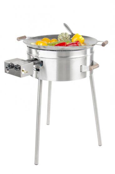 GrillSymbol Paella Frying Pan Set PRO-545