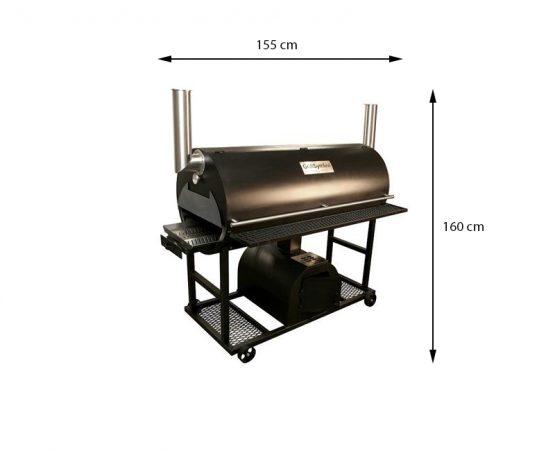 GrillSymbol BBQ Smoker Q 1250