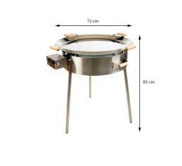 GrillSymbol Paella Frying Pan Set PRO-720i