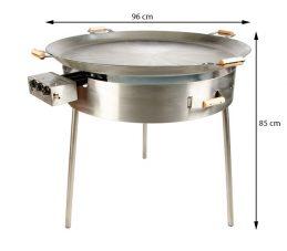 GrillSymbol Paella Cooking Set PRO-960, ø 96 cm