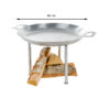 GrillSymbol Paella Skillet Stark Set-460