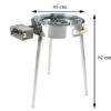 GrillSymbol Indoor and Outdoor Paella Gas Cooker TW-580i