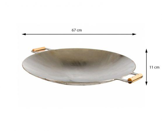 GrillSymbol Wok-Pan WP-675