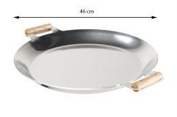 GrillSymbol Paella Frying Pan PRO-460 inox