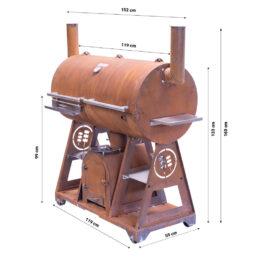 GrillSymbol BBQ-Grill Smoky Beast XL