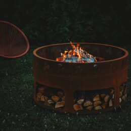 GrillSymbol Corten Steel Fire Pit Antigo, ø 116 cm