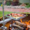 GrillSymbol Cor-Ten Steel Fire Pit Legend