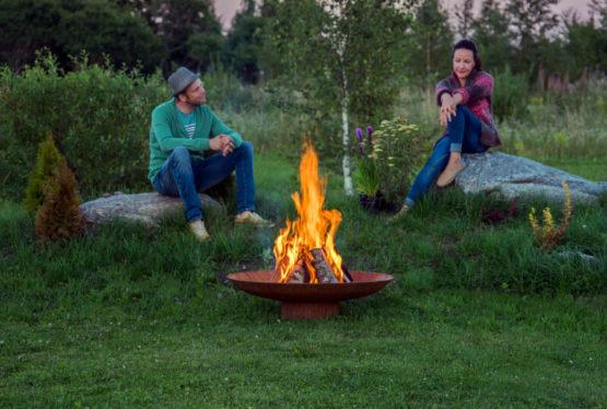 GrillSymbol Antigo Outdoor Wood Burning Fireplace
