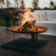 GrillSymbol Cor-Ten Steel Fire Pit Elegante XL