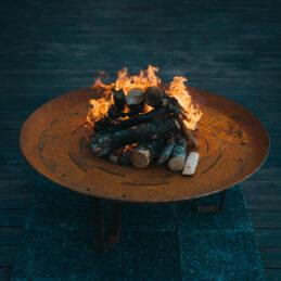 GrillSymbol Elegante XL Outdoor Wood Burning Fire Pit