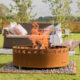 GrillSymbol Legend Outdoor Wood Burning Fire Pit