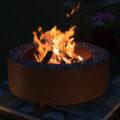 GrillSymbol Cor-Ten Steel Fire Pit Luna