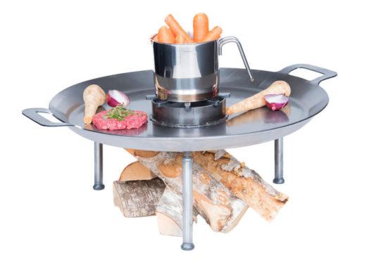 GrillSymbol Paella Skillet Wild Chef Set 58