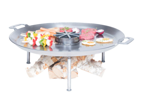 GrillSymbol Paella Skillet Wild Chef Set 72