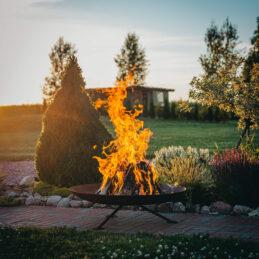 GrillSymbol Cor-Ten Steel Fire Pit Alta XL
